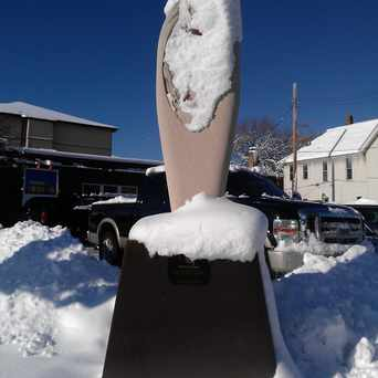 Photo of Stone Sculpture in Ventura Village, Minneapolis