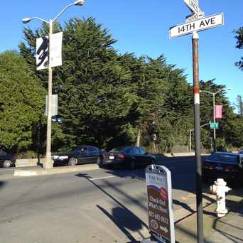 Photo of Lincoln Way & 14th Avenue in Inner Sunset, San Francisco