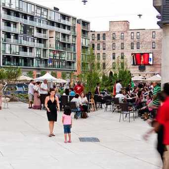 Photo of The Piazza at Schmidts, North Hancock Street, Philadelphia, PA in Northern Liberties - Fishtown, Philadelphia