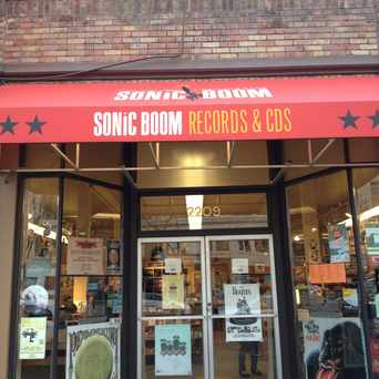 Photo of Sonic Boom Records in Ballard, Seattle
