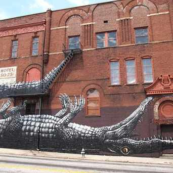 "Photo of ""Alligator"" Mural in South Downtown, Atlanta"