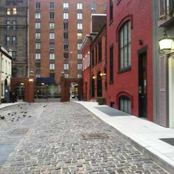 Photo of Washington Mews in Greenwich Village, New York