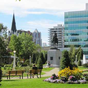 Photo of Central Memorial Statue in Beltline, Calgary