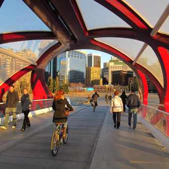 Photo of Peace Bridge in Downtown West End, Calgary