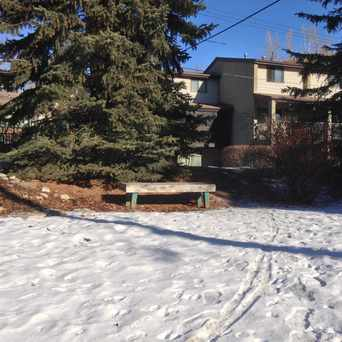 Photo of Sunnyhill Housing Co-operative Park Bench in Sunnyside, Calgary