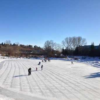 Photo of Eau Claire Skating Rink in Calgary