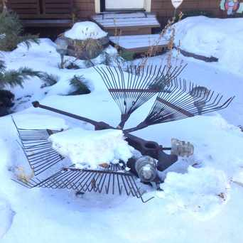 Photo of Recycled Summer Yard Sculptures in Sunnyside, Calgary