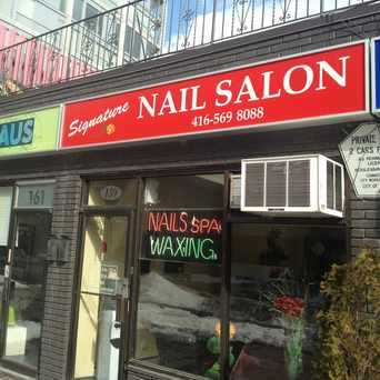 Photo of Signature Nail Salon Toronto in Waterfront Communities-The Island, Toronto