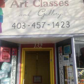 Photo of Hugh's Art Classes & Gallery in Sunnyside, Calgary