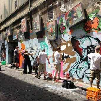Photo of Hosier Lane in Melbourne