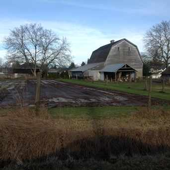 Photo of A Home & Barn in Langley Township
