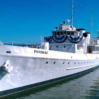Photo of USS Potomac in Oakland