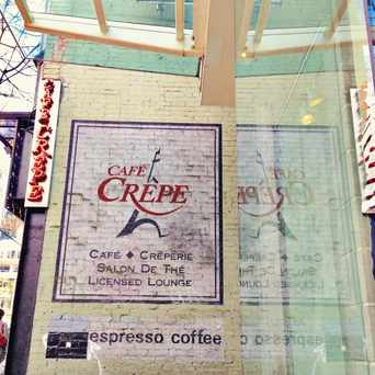 Photo of Cafe Crepe in West End, Vancouver