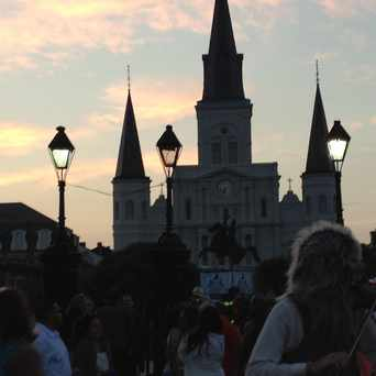 Photo of Jackson Square in French Quarter, New Orleans