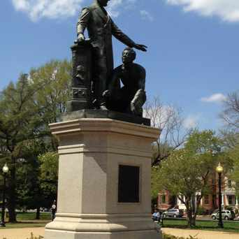 Photo of Emancipation Monument in Capitol Hill, Washington D.C.