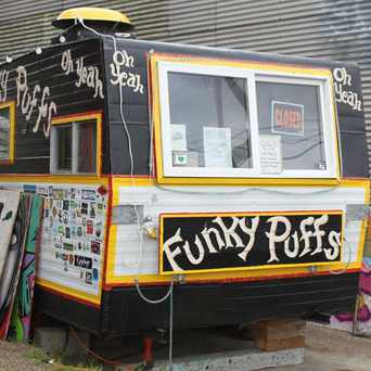 Photo of Funky Puffs food cart in Portland