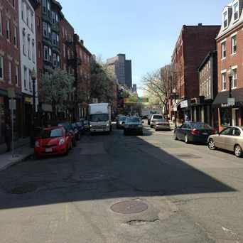 Photo of Hanover Street in North End, Boston