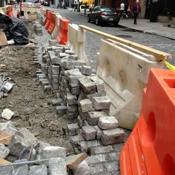 Photo of Mercer Street in SoHo, New York
