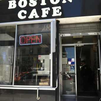 Photo of Boston Cafe in Civic Center, San Francisco