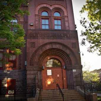Photo of Boys High School in Bedford-Stuyvesant, New York