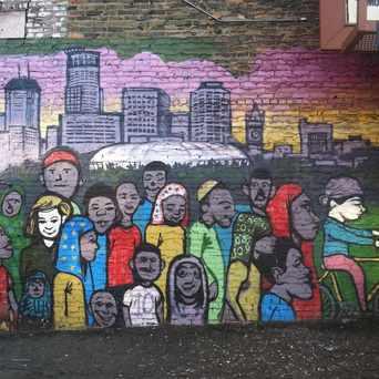 Photo of Mural in Cedar-Riverside, Minneapolis