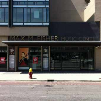 Photo of Max M. Fisher Music Center in University, Detroit