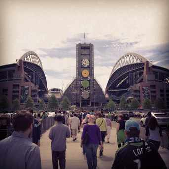 Photo of CenturyLink Field in Pioneer Square, Seattle
