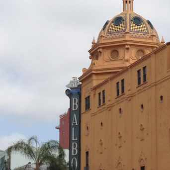 Photo of Balboa Theatre in Horton Plaza, San Diego