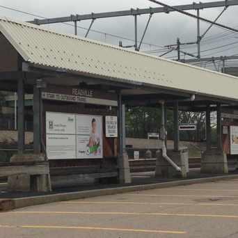 Photo of Commuter Rail in Readville, Boston