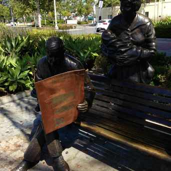 Photo of 'A Moment In Time' Sculpture in Culver City