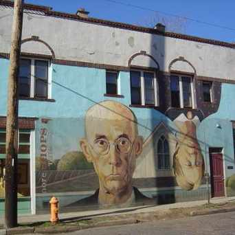 "Photo of ""Short North Gothic"" Mural in Short North, Columbus"