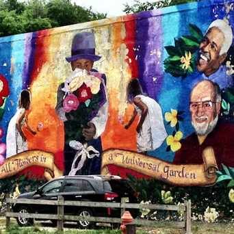Photo of Holbrook Street PMAP Mural in Eastwick - Southwest Philadelphia, Philadelphia