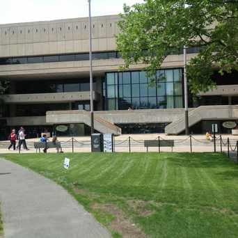 Photo of Stratton Student Center in MIT, Cambridge