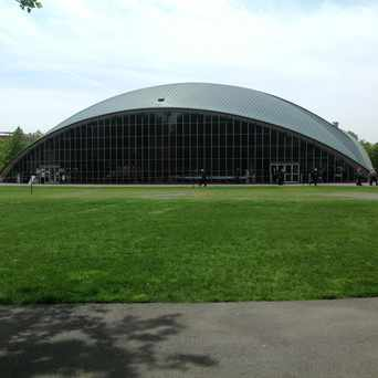 Photo of Kresge Auditorium in MIT, Cambridge