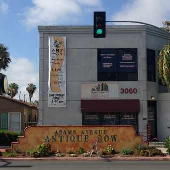 Photo of Intersection of Ohio Street and Adams Avenue in North Park, San Diego