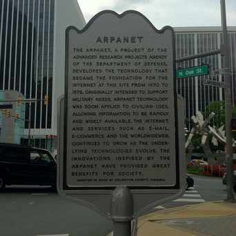 Photo of Arpanet Historical Sign in Radnor - Fort Myer Heights, Arlington