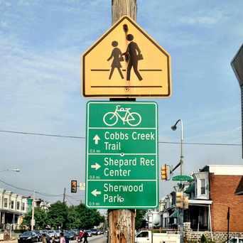 Photo of Philadelphia Bike Routes in Cobbs Creek, Philadelphia