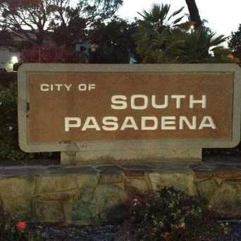 Photo of South Pasadena sign in South Pasadena
