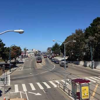 Photo of Ocean Ave - Southern Border of Westwood Park in Mt. Davidson Manor, San Francisco