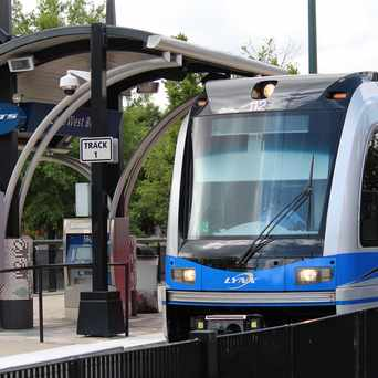 Photo of Light Rail, Charlotte, NC in Dilworth, Charlotte