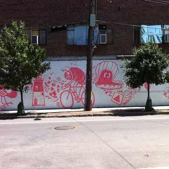 Photo of Brookline Street Mural in Cambridgeport, Cambridge