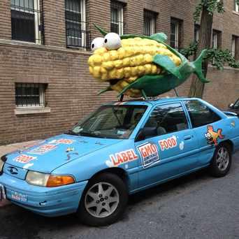 Photo of Label GMO Car in Adams Morgan, Washington D.C.