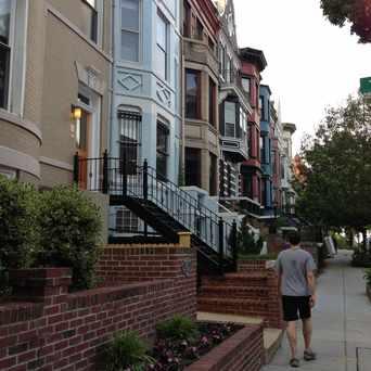Photo of U Street Row Houses in Adams Morgan, Washington D.C.