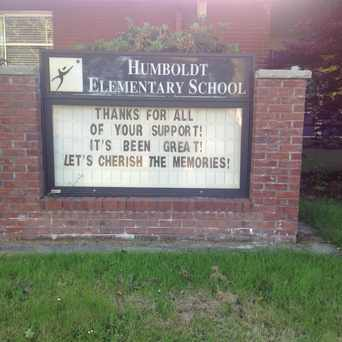 Photo of Humboldt Elementary School in Humboldt, Portland