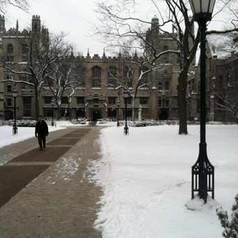 Photo of The University of Chicago in Hyde Park, Chicago