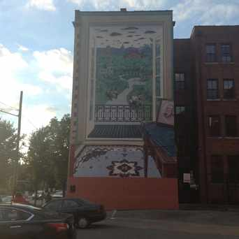 Photo of The Vision of Samuel Hannaford Mural in Over-The Rhine, Cincinnati