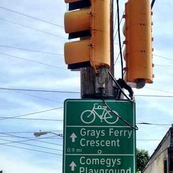 Photo of Philadelphia Bike Route in Kingsessing, Philadelphia
