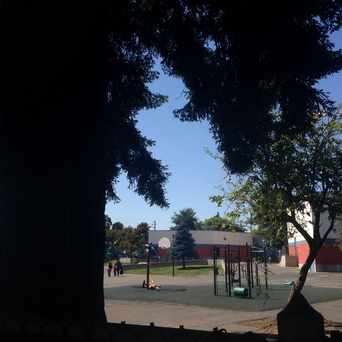 Photo of Emerson Elementary School field in Temescal, Oakland
