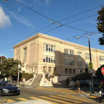 Photo of Ida Wells High School in Alamo Square, San Francisco
