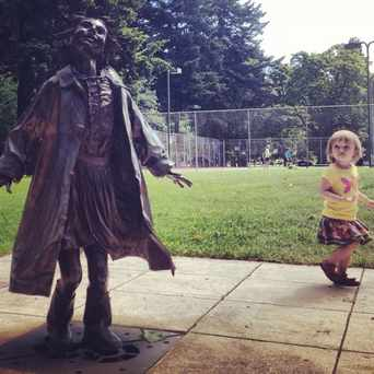 Photo of Beverly Cleary Sculpture Garden in Grant Park, Portland
